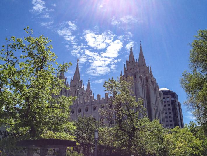 Temple Square in Salt Lake City