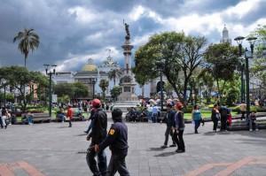 Plaza de Armas Quito, Ecuador