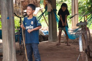 Smiley kids in Cambodia