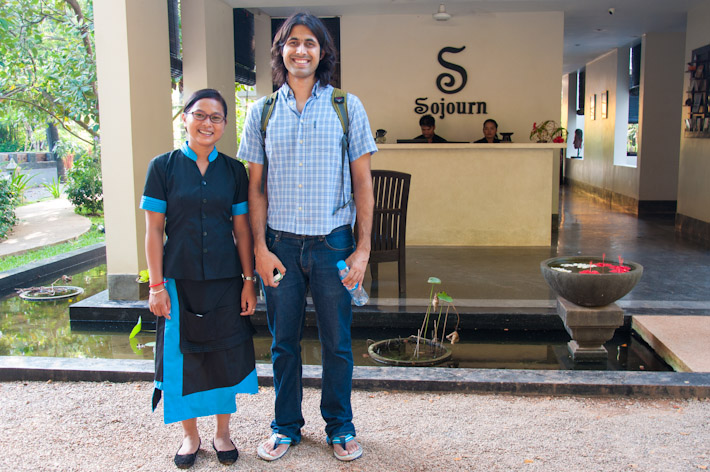 Cambodian Cooking Class: Dany & Ashray at Sojourn Hotel, Siem Reap