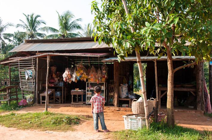 Village grocery shop in Siem Reap