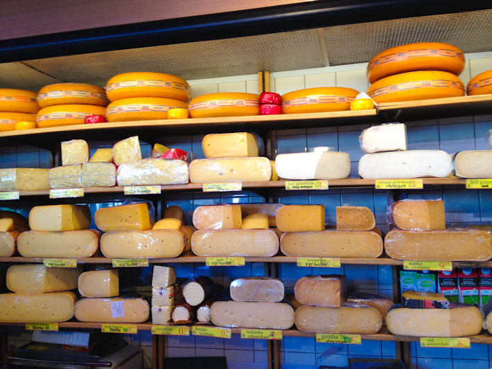 Cheese shop in Amsterdam - my Gouda dreams come true!
