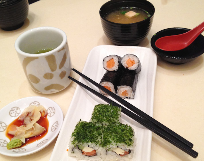 Sushi rolls and miso soup: how to eat well and cheap in HK 101