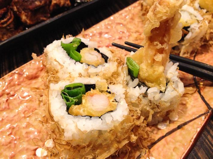 Ebi tempura crispy rolls