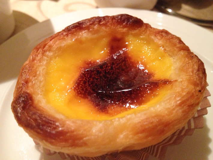 Macau's take on Portuguese Egg Tarts