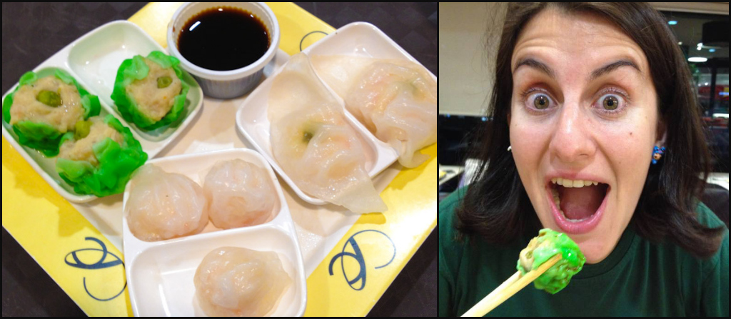Z likes to dim sum... and Bangkok's food courts are a kick-ass place to do so on a budget!