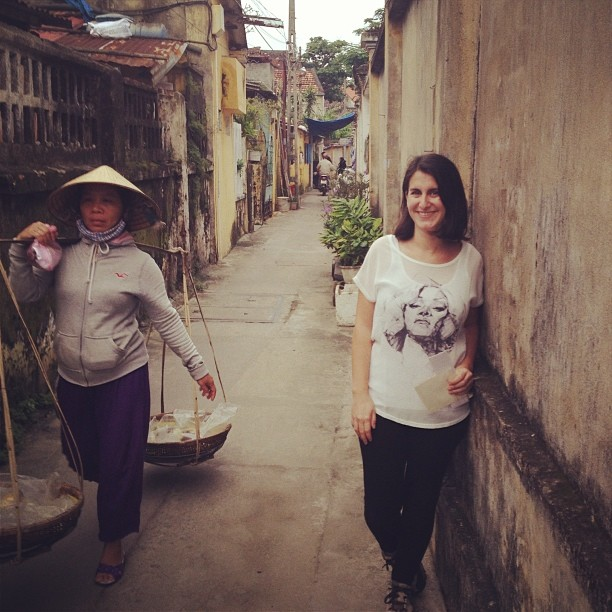 At at alley in Hoi An, Vietnam