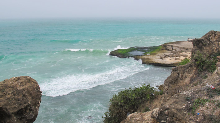 The coast around Salalah