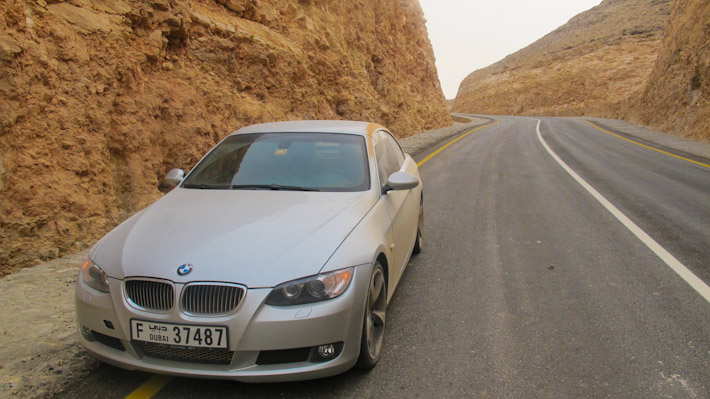 Road trip in Oman