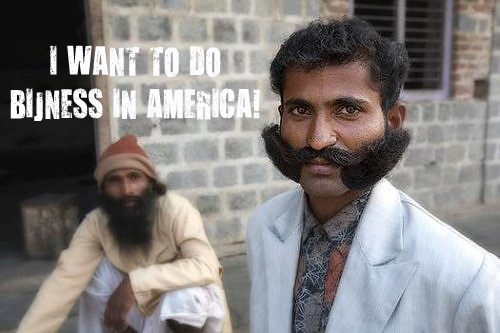 Indian businessman wants to go to America!