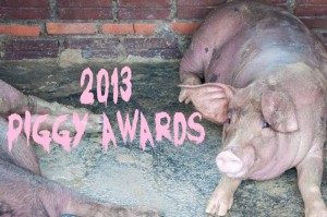 Backpack ME presents The 2013 Piggy Awards