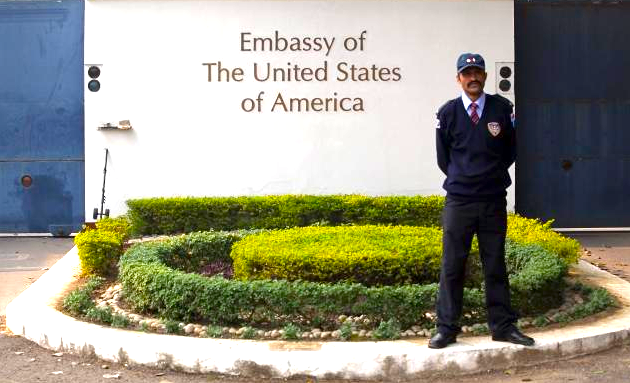 USA Embassy in New Delhi