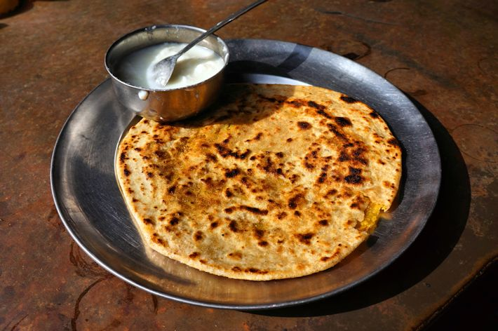 Aloo Paratha from India
