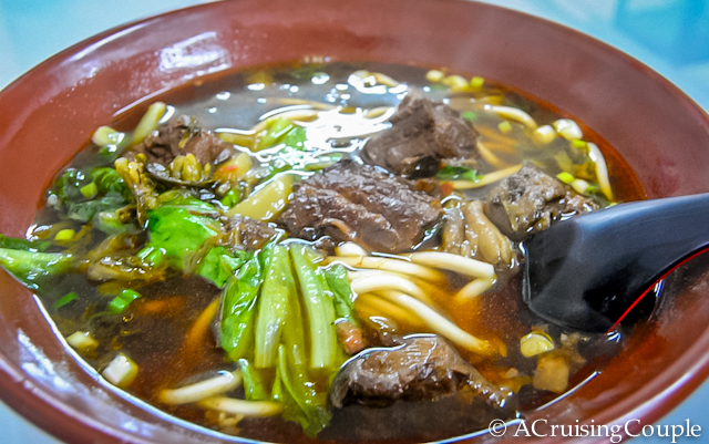 Beef Noodle Soup, Taiwan