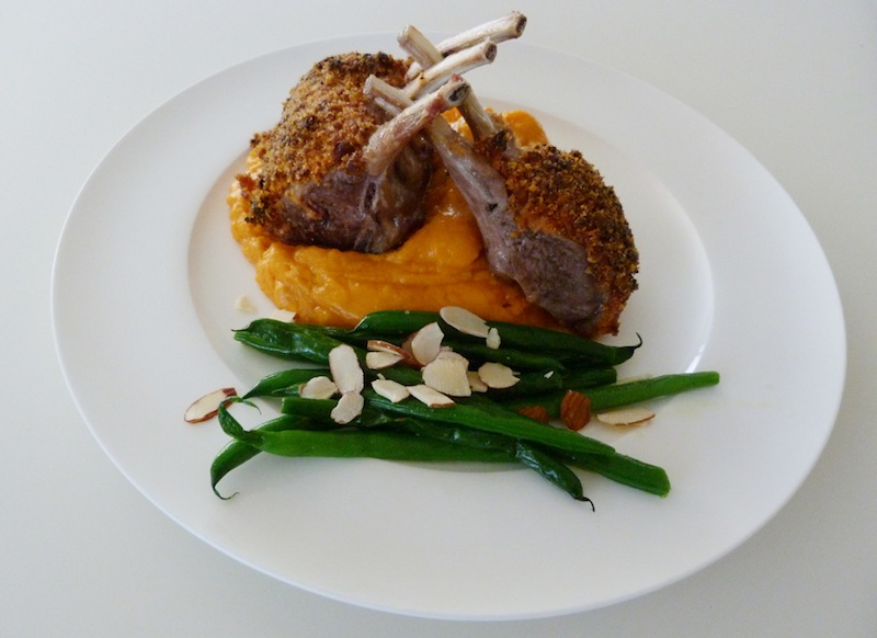 New Zealand lamb racks