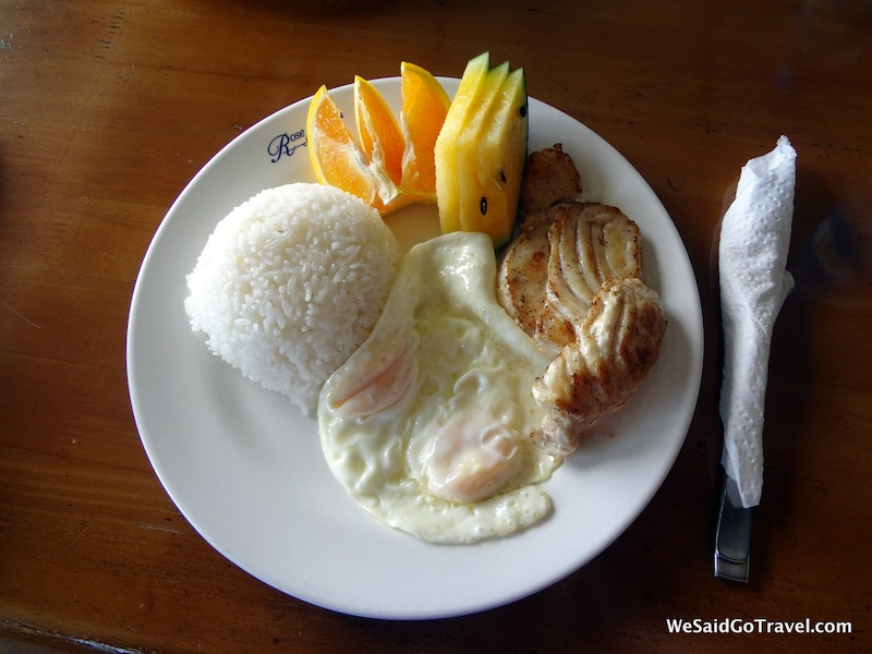 Palau Breakfast
