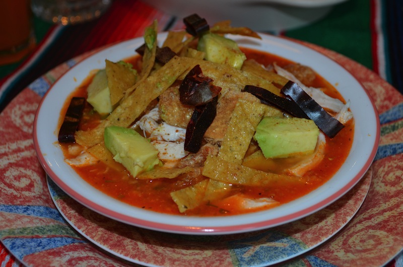 Sopa de Tortilla from Mexico