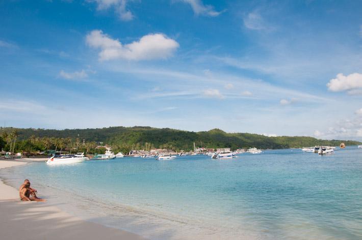 Tonsai Bay in Ko Phi Phi, Thailand