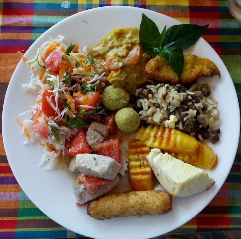Creole Lunch from Dominica