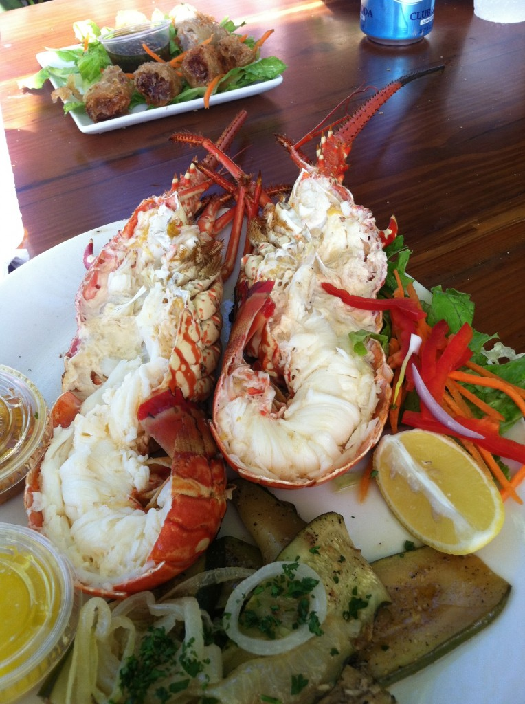 Langoustine from St. Martin