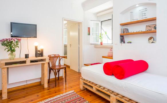 Airbnb rental in Lisbon