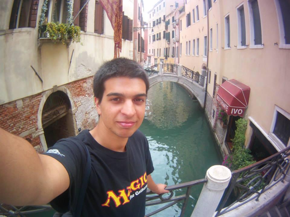 In Venice, Italy