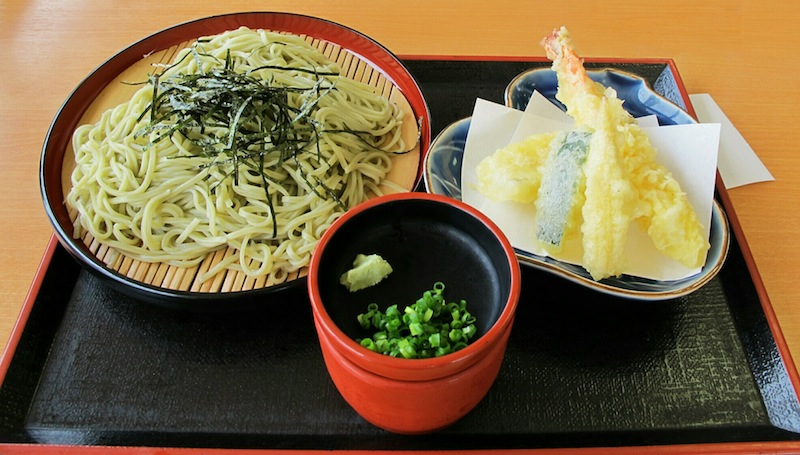 Soba noodles from Japan