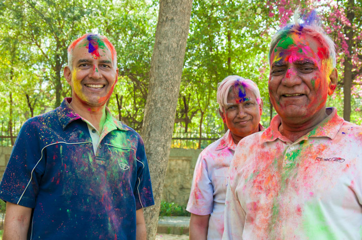 Holi is celebrated by people of all ages!