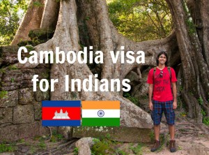 Cambodia visa for Indians