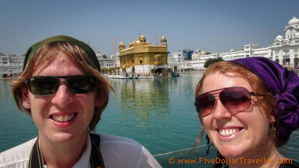 Megsy & Tommo from Five Dollar Traveller in India