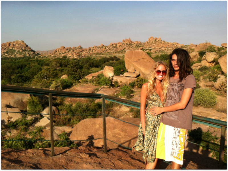 Rachel Jones from Hippie in Heels in Hampi, Karnataka