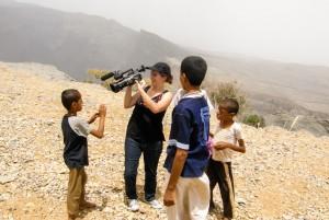 Village by Wadi Ghul in Oman