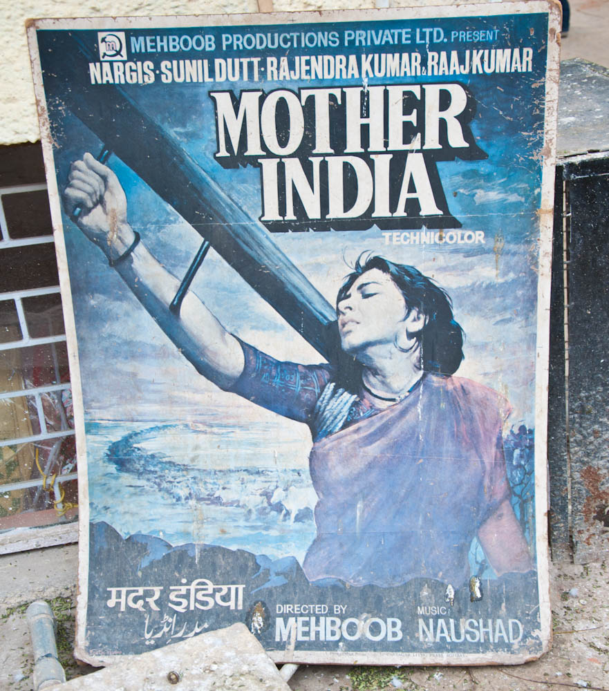Mother India original movie poster