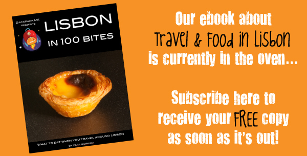 Book about Travel and Food in Lisbon