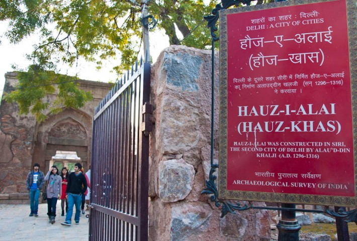 Hauz Khas Village, hipsters in New Delhi