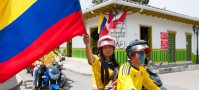 World Cup fever in Salento, Colombia