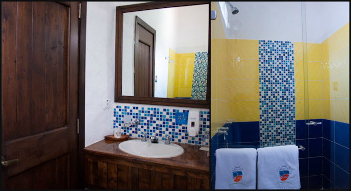 Hotel Salento Real bathroom