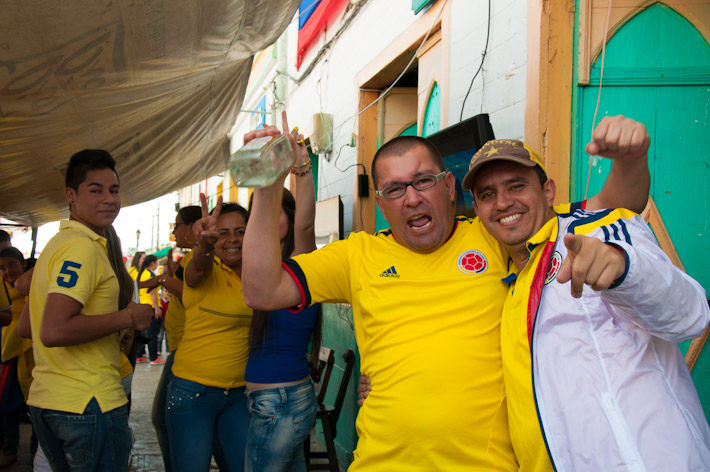 World Cup fever in Colombia