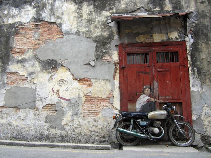 Graffiti in Georgetown, Malaysia