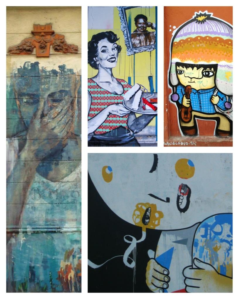 Graffiti in Buenos Aires, Argentina