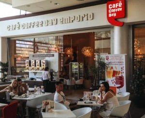 Cafe Coffee Day Emporio in Prague