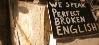 We speak perfect broken english on Koh Phi Phi