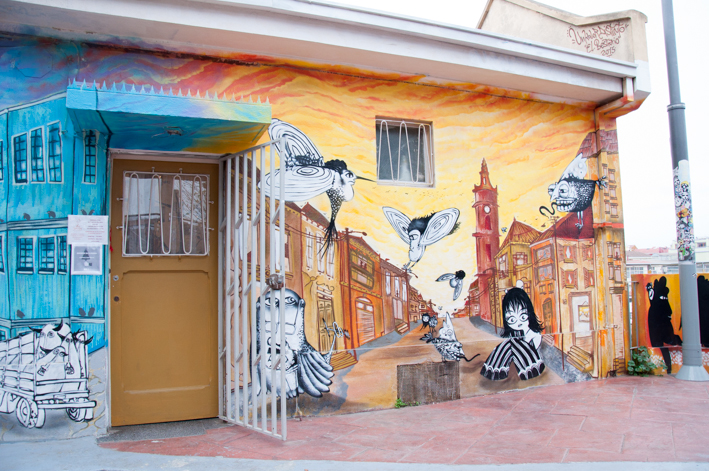 Valparaiso - Amazing graffiti