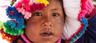 Little Girl from Uros Islands