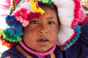 Little Girl from Uros Islands