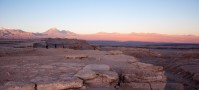 Other worldly landscape in the Atacama desert