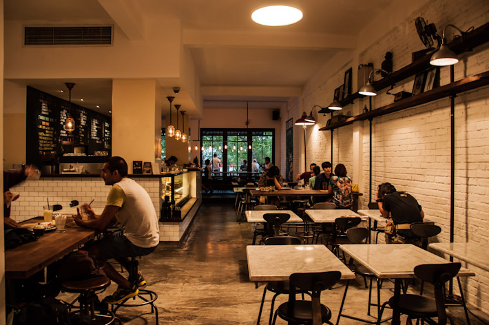 L'usine interiors, in Ho Chi Minh City