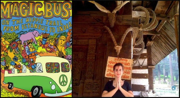 Magic Bus book cover + Zara in Incredible India