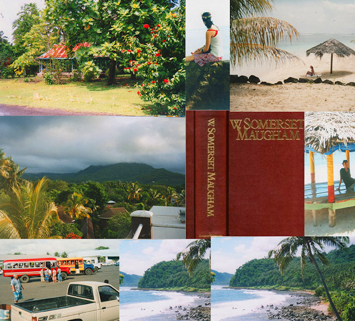 Short Stories by W. Somerset Maugham inspired Contented Traveler to visit Samoa