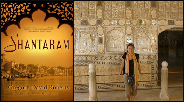 Shantaram by Gregory David Roberts + Manouk of BoB in India